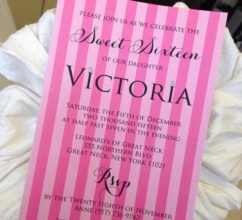 6de3ebb010 Victorias Secret Invitation Victorias Secret Themed Lingerie