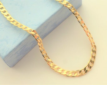 x5 Gold filled Curb chains 16