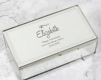 Personalized Jewelry Box Etsy