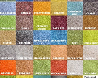 Colored Sand ~ Various Sizes Available ~ Colored Sand for Unity Ceremony, Wedding Sand, Floral Decorations, Unity Sand ~ One color per bag
