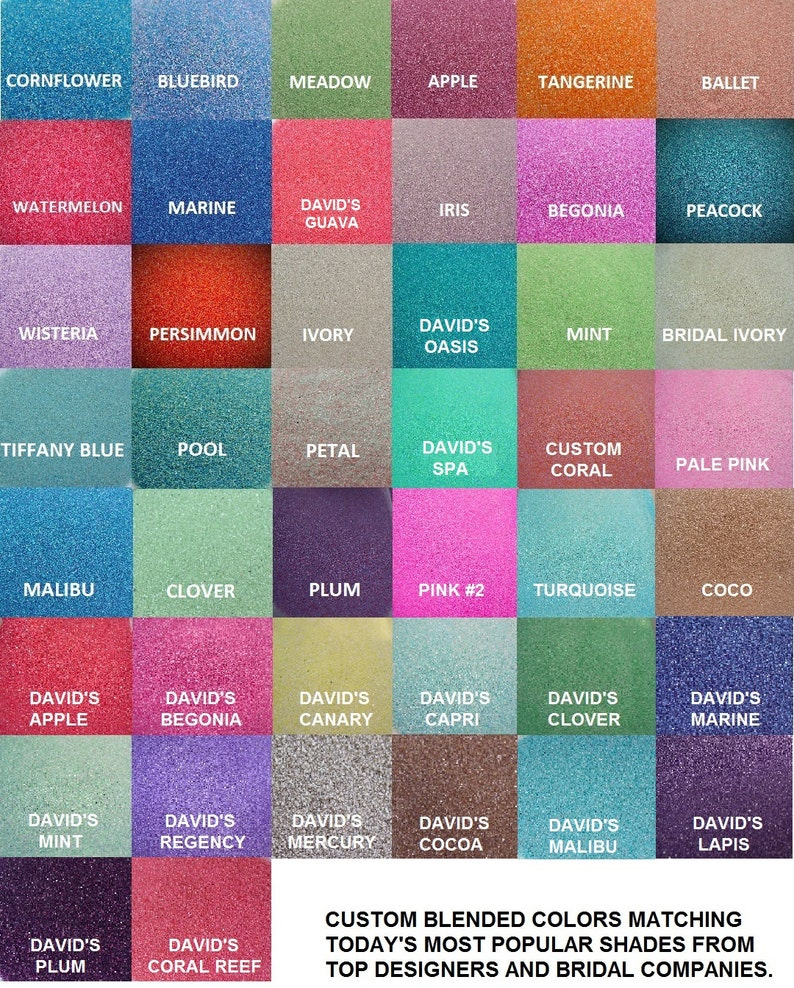 1 lb Bags Unity Sand 150 Colors Available  Unity image 0