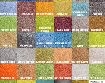 """1/2lb (3/4 cup) Bags Colored Sand """"125+ Colors Available"""" for Unity Ceremony, Weddings, Bridal, Floral Decoration, Sand Art. Eco Friendly"""