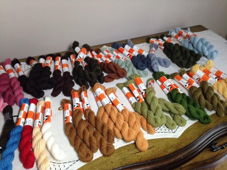 Gobelinwolle Tapestry Wool Yarn DARK CHOCOLATE BROWN  2 Skiens 10 m Springer 4840 Germany