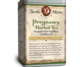 Pregnancy Blend Herbal Tea - Prepare for Healthy Childbirth - Organic Wild-Crafted