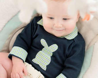 9657572dcabd Baby Easter Outfit - Baby s First Easter Shirt - Baby Boy Easter Outfit - Boys  Easter Shirt - Baby Boy Easter Shirt - Boy Easter Bunny Shirt