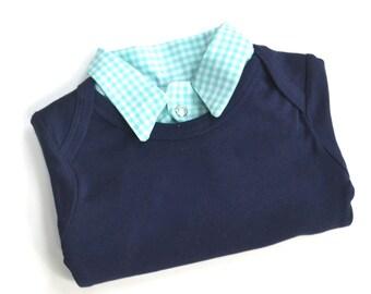 Baby Boy First Birthday Outfit - Cake Smash Outfit - Baby Boy Coming Home Outfit - Baby Boy Shower Gift - Baby Boy Cake Smash Shirt - Mint