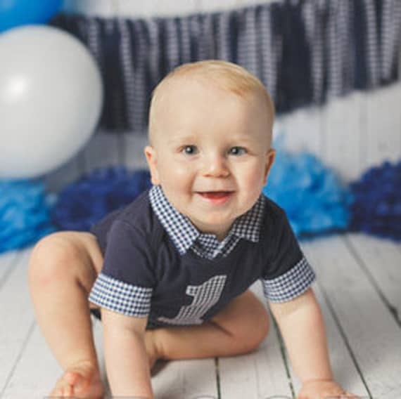 Baby Boy First Birthday Outfit Cake Smash Outfit For Baby