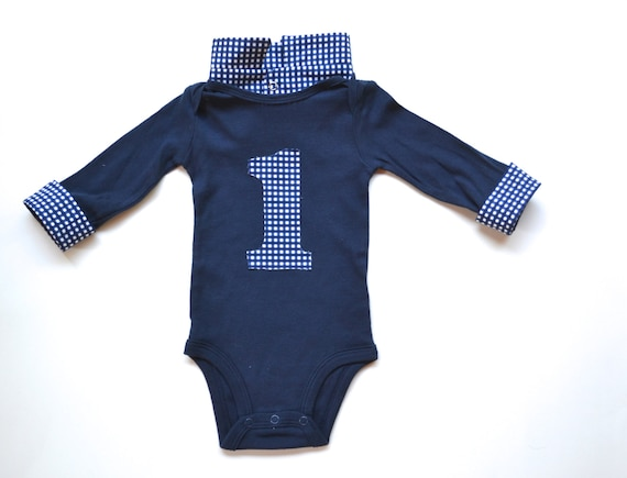Baby Boy First Birthday Outfit Shirt