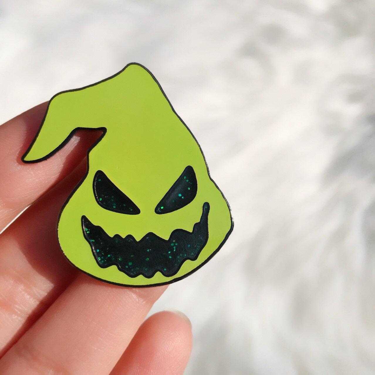 Oogie Boogie inspiriert Pin Halloween-Liebhaber Pin Die | Etsy