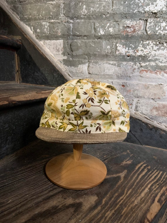 Flower cap sample hat