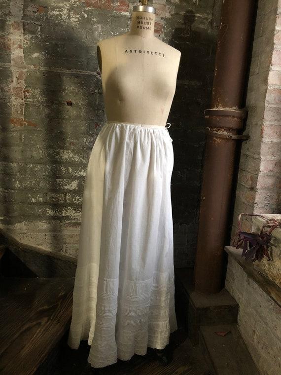 1900's Victorian Petticoat