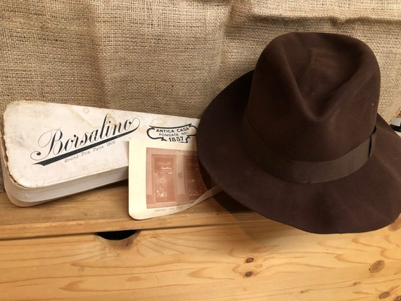 vintage 1940's Borsalino  Felt Fedora