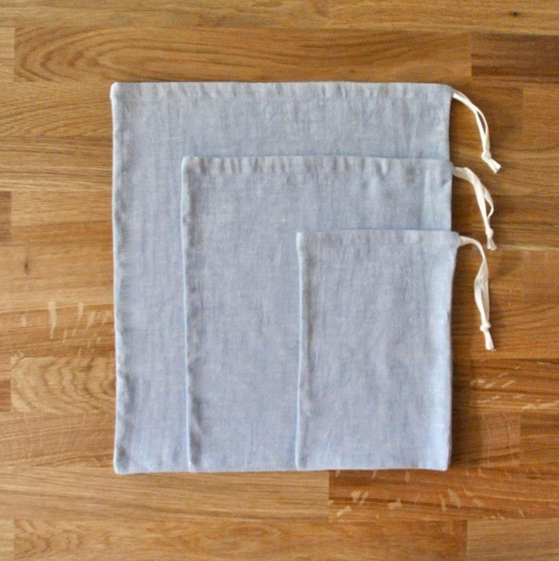 3 Pack  Organic Bulk Bag S-M-L image 0