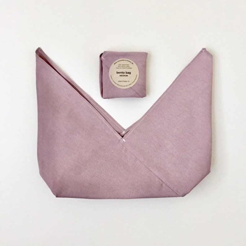 Medium Bento Bag organic cotton linen image 0