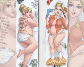 Pam Body Pillow Case - Case Only