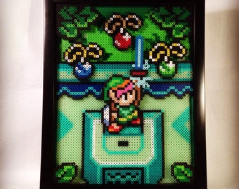Link to the Past Pixel Shadowbox