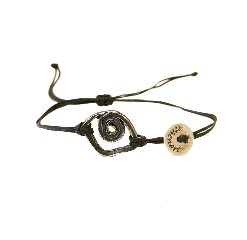Unisex Bracelet|Contemporary bracelet Evil eye charm bracelet
