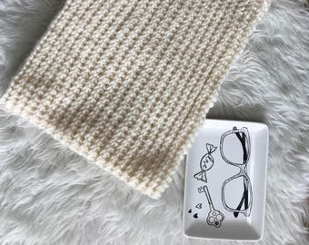 Hand Knitted / Handmade Scarf