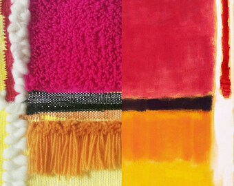Weaving Rothko