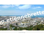 Cherbourg Panorama 50x150cm