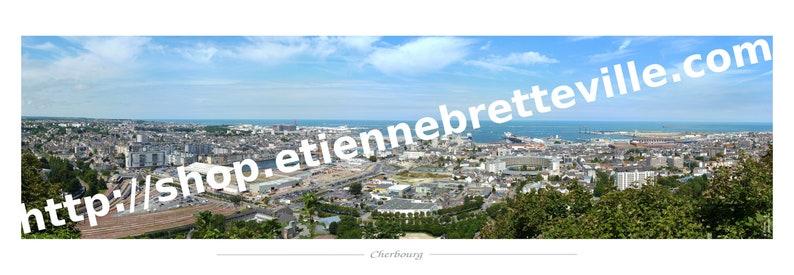 Cherbourg Panorama 50x150cm image 0