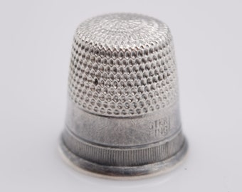 Open End Thimbles 510 Size 13 C.S Made In USA Osborne 3 Pk 51//64/""