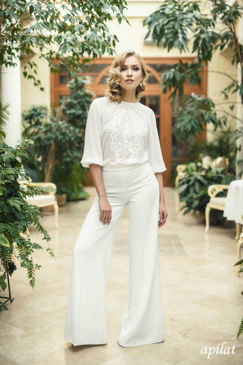 e18913eb5f9a Modern Two Piece Trouser Wedding Suit L22 Wedding Trousers