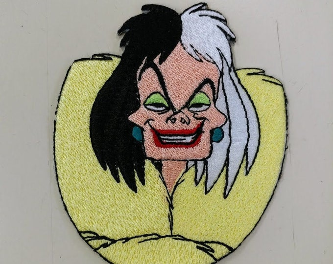 Evil Dogknapping Villian Embroidered Patch
