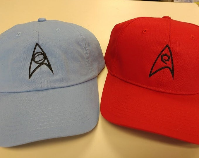 Sci Fi Science, Engineering and Command Hat, Sci Fi TV Cult Classic Cap