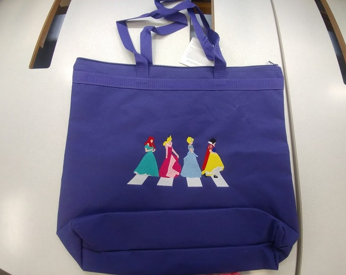 Princess Purple Tote Bag