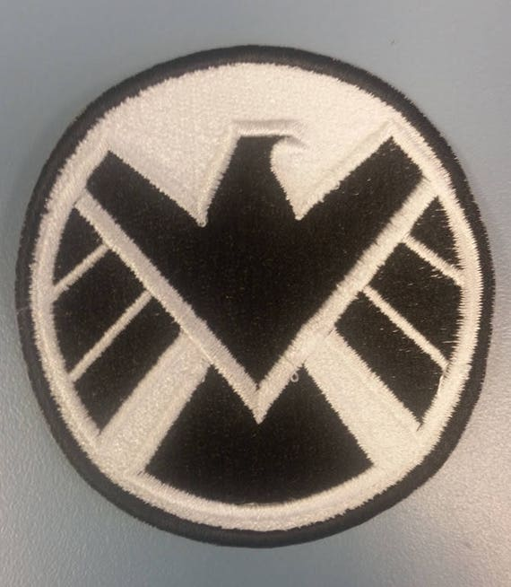 Superhero Agents Embroidered Patch, Iron on Cosplay Superhero Patch