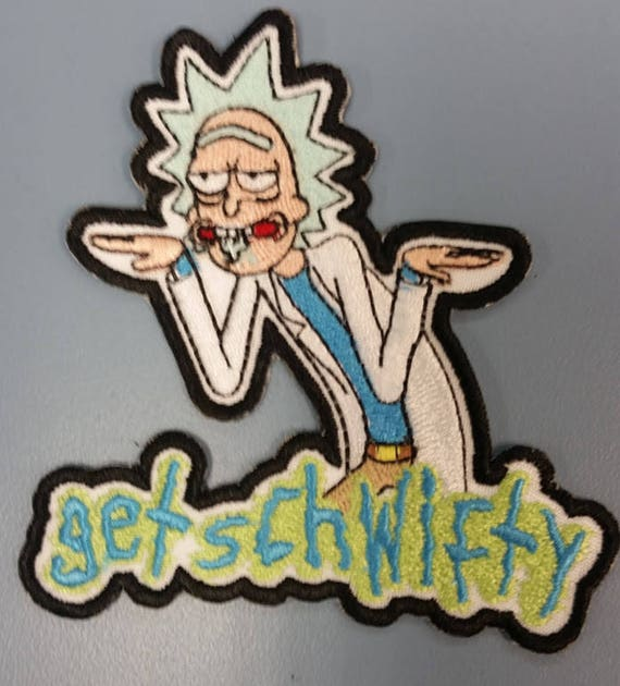 Funny Scientist Character Embroidered Patch, Cartoon Scientist Iron On patch