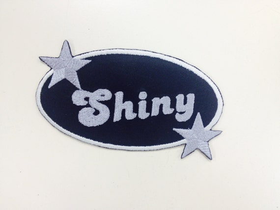 Space Cowboy Inspired Patch, Shiny Patch,  Iron on Patch, Embroidered Patch, TV Inspired Patch