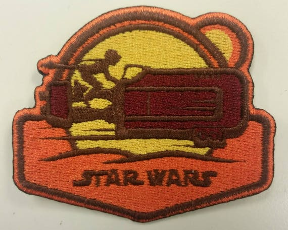 Sci Fi Fantasy Movie Inspired Embroidered Patch,  Iron On Space Galaxy Patch