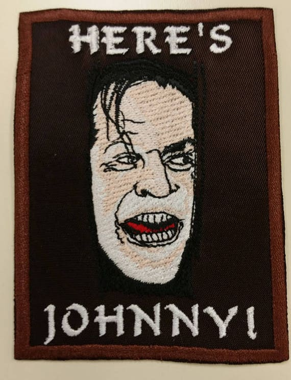 Horror Movie Patch,  Killer Movie Embroidered Patch, Movie Icon Iron On Patch