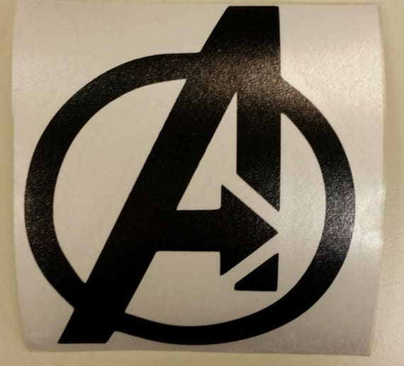 Superhero Team Vinyl Decal, Superhero Car Sticker, Laptop Sticker Superhero