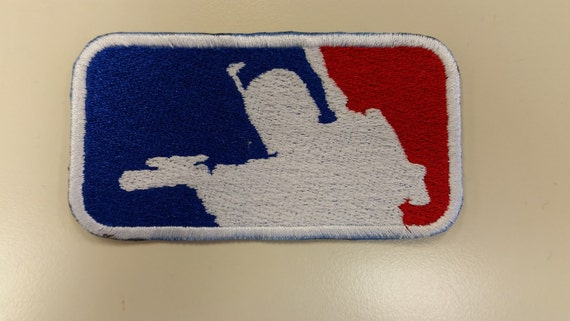 Bounty Hunter Embroidered Patch, Spoof of MLB with Bounty Hunter, Sci Fi Lovers Iron On Patch, Cool Embroidered Patch for Sci Fi Fans