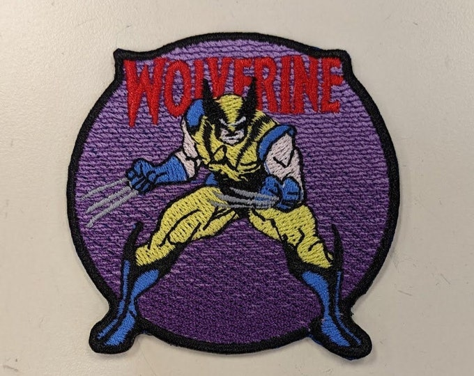 Superhero Claw hand Embroidered Patch
