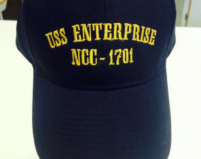 Space Sci Fi Fan Wear, Starship Navy Hat, Star Journey Fanwear, Space Adventure Gift, Sci Fi Cap
