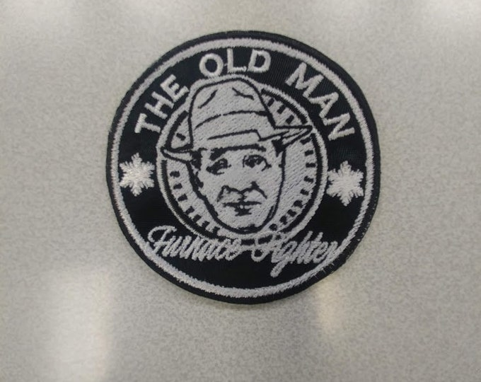 Christmas Old Man Embroidered Patch
