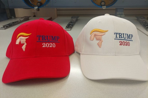 Trump 2020 Cap with Puff