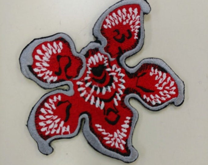Creepy Monster Parallel  Universe Embroidered Patch