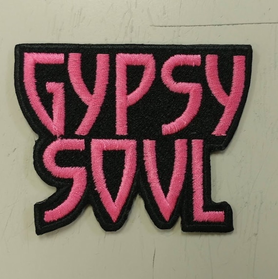 Gypsy Soul Patch, Free Spirit Embroidered Patch
