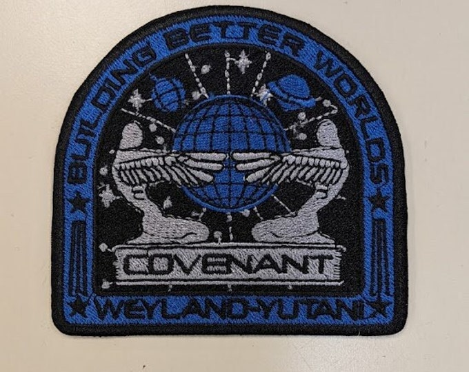 Sci Fi Horror Space Flight Embroidered Patch