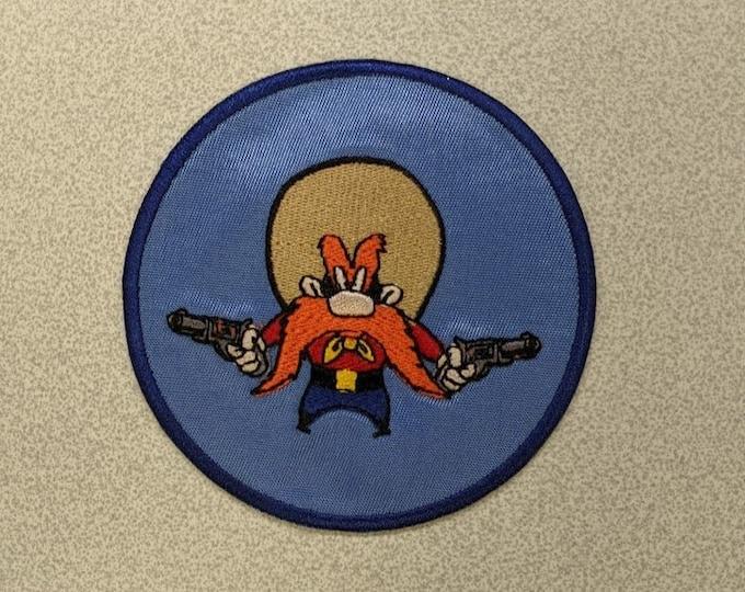 Cartoon Gunslinger Embroidered Patch