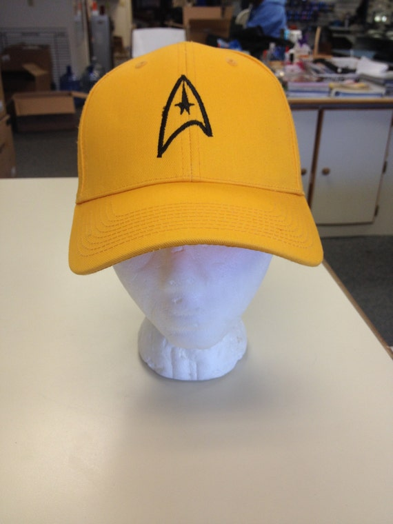 Sci Fi Command Hat with Velcro Back, Star Journey Cap for Fans, Geeky headwear, Geek hat, Fantasy apparel, Sci Fi Gift