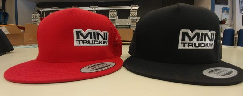 43cb613887a Lowrider Snapback Style Embroidered Hat Mini Trucks Mesh Back