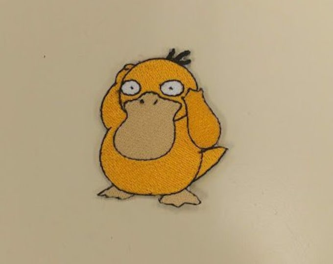 Duck Platypus Gaming Character Embroidered Patch