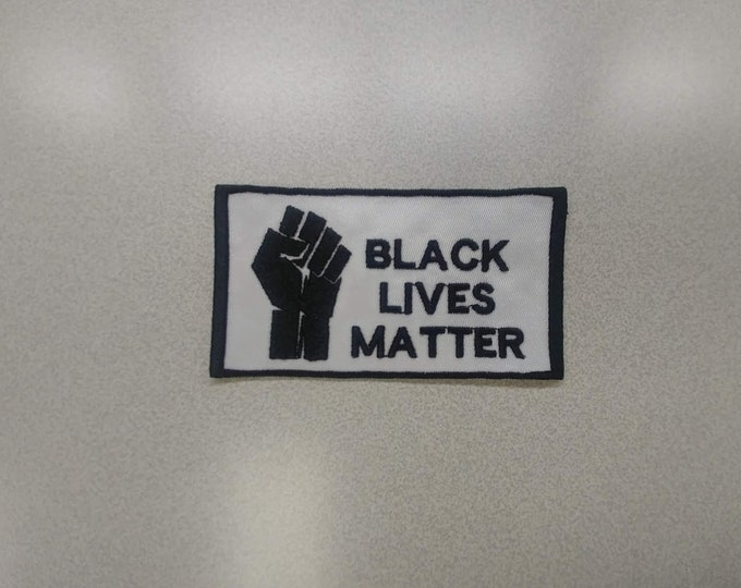 Black Lives Matter Iron On Patch