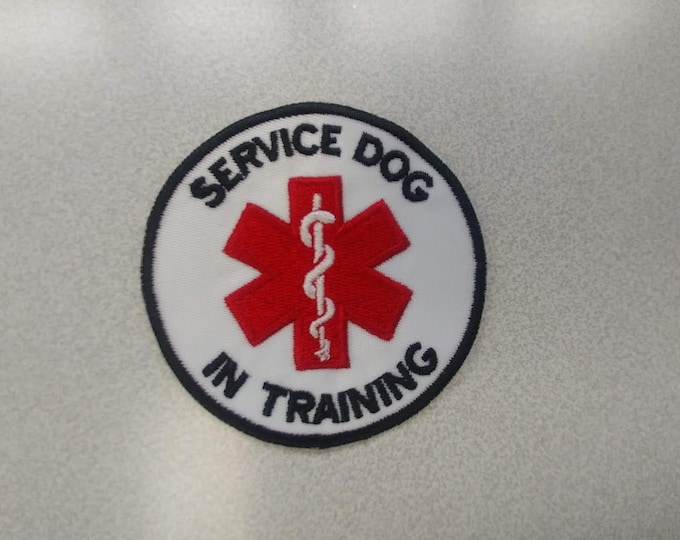 Service Dog Embroidered Patch